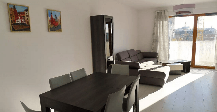 3-room apartment (75 m2) with a balcony