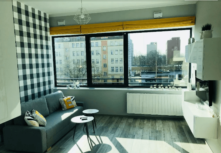 Cozy 2 room apartment at Legnickiej street
