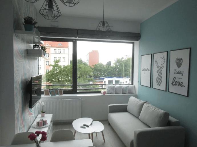 Relaxing Studio apartment at Legnickiej street
