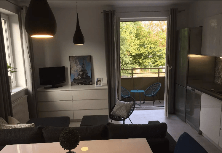 Gorgeous 3 rooms apartment with balcony